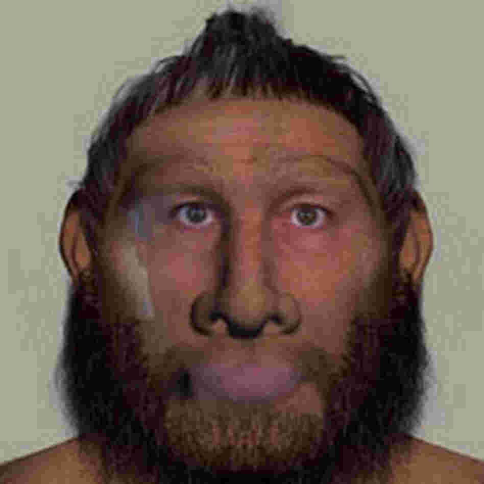 Joe Palca as a Neanderthal