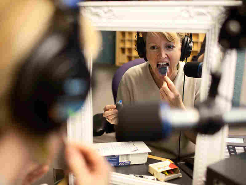 NPR's Allison Aubrey put her own tongue to the test.