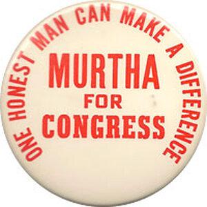 John Murtha button