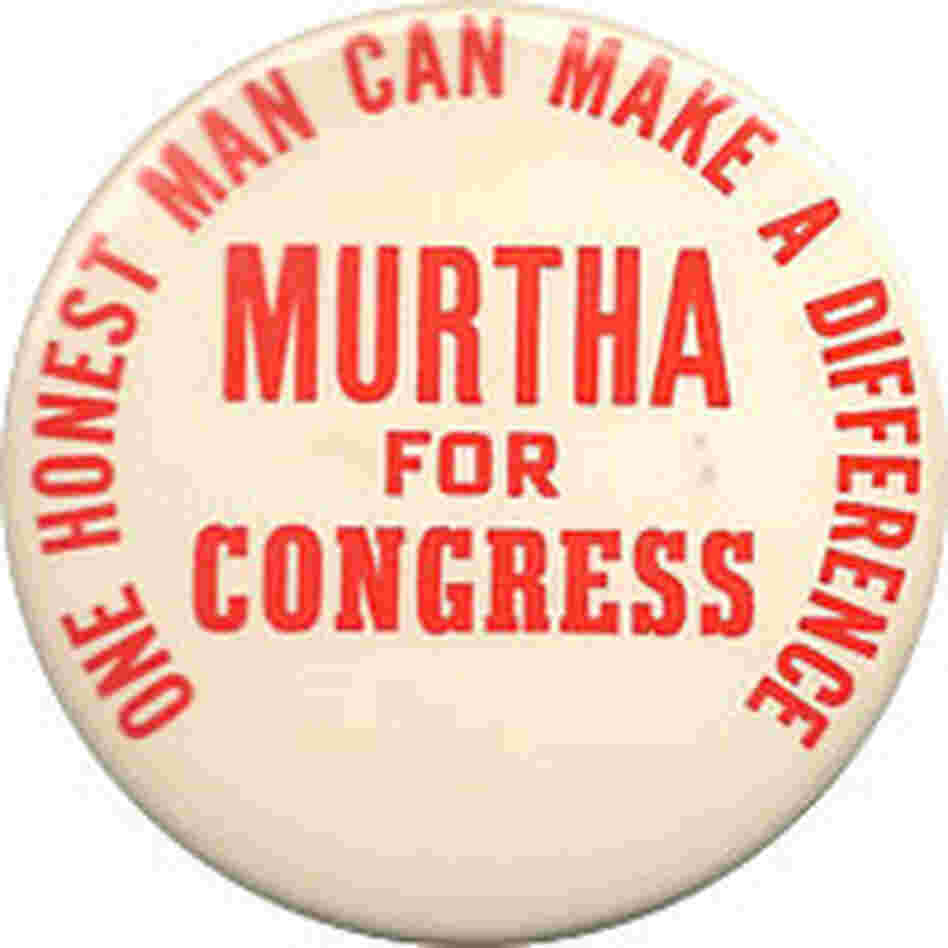 John Murtha button