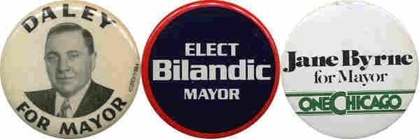 Daley, Bilandic, Byrne buttons