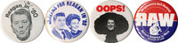 Reagan buttons, 1980-83
