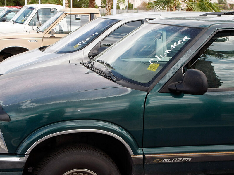 Cash For Clunkers >> The Shaky Economics Of Cash For Clunkers Npr