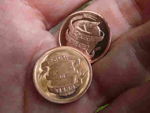 Matthew Hincman coins.