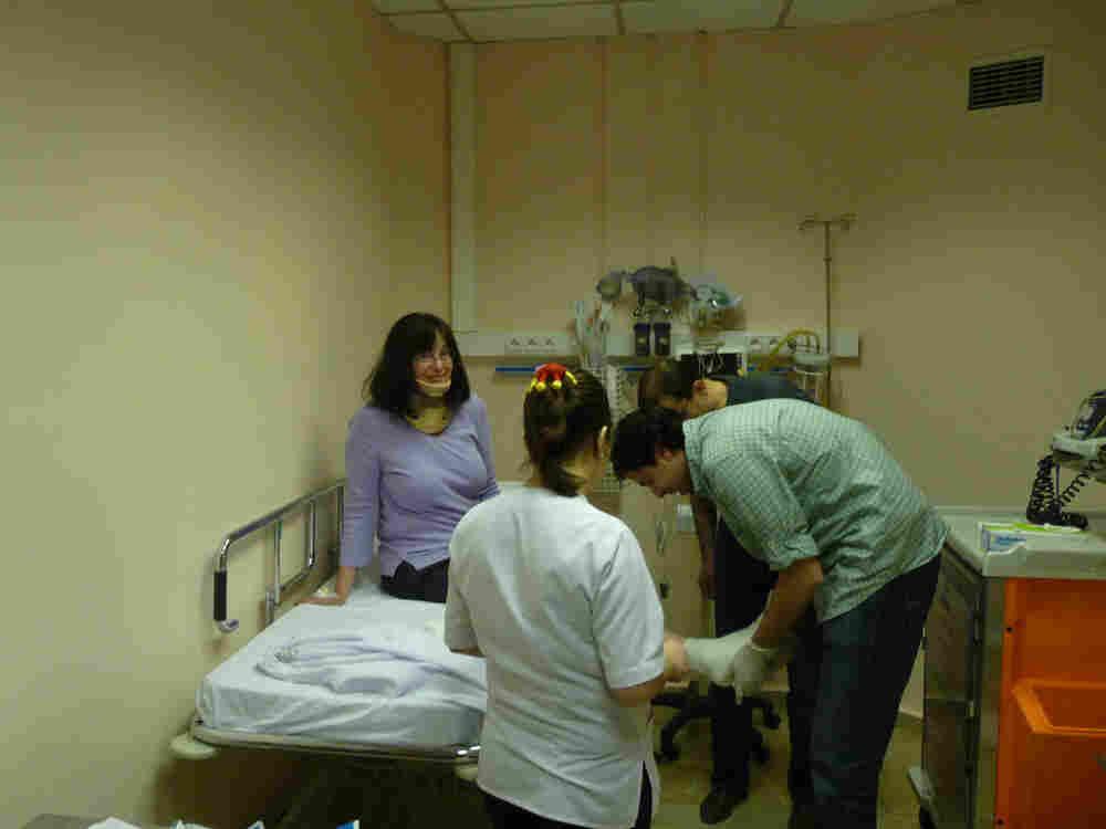 A hospital in turkey.