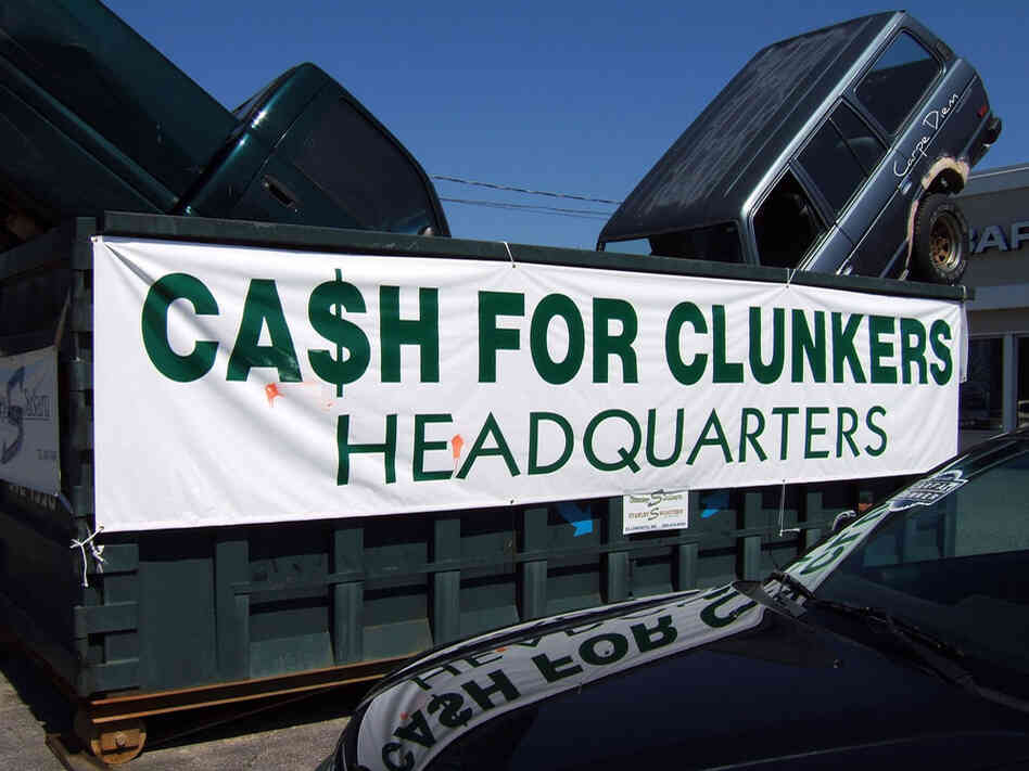 ad for cash for clunkers