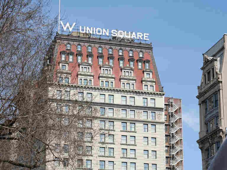 W hotel in Union Square