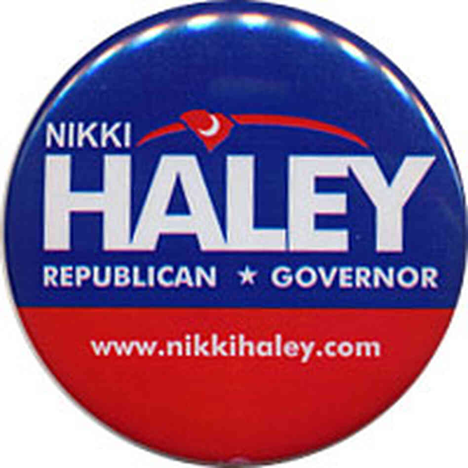 Nikki Haley button