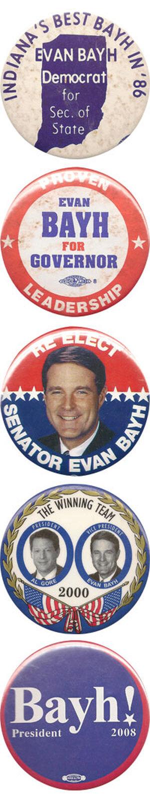 Senator Evan Bayh Retires.