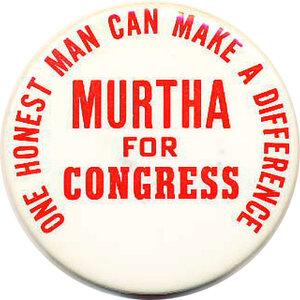 John Murtha, Pennysylvania Democrat passed away.