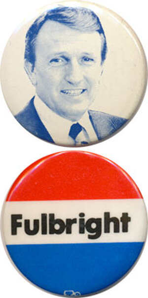 Bumpers and Fulbright buttons