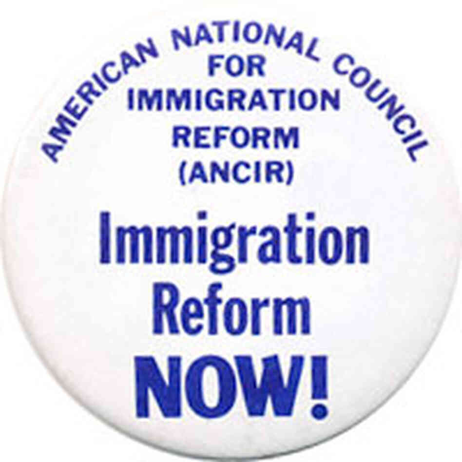 Immigration Reform Now button