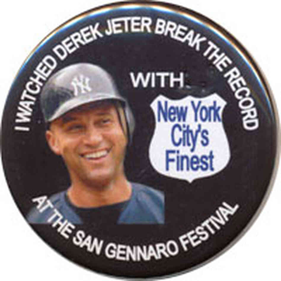 Derek Jeter button