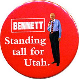 Bob Bennett campaign button