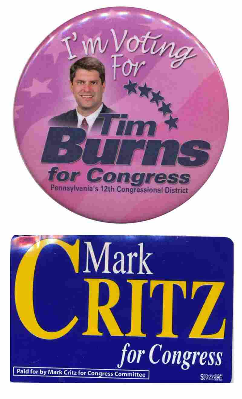 Burns and Critz items