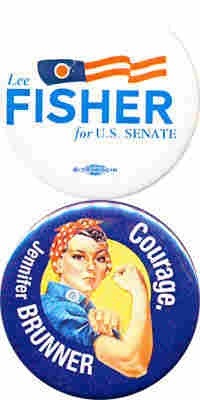 Fisher Brunner buttons