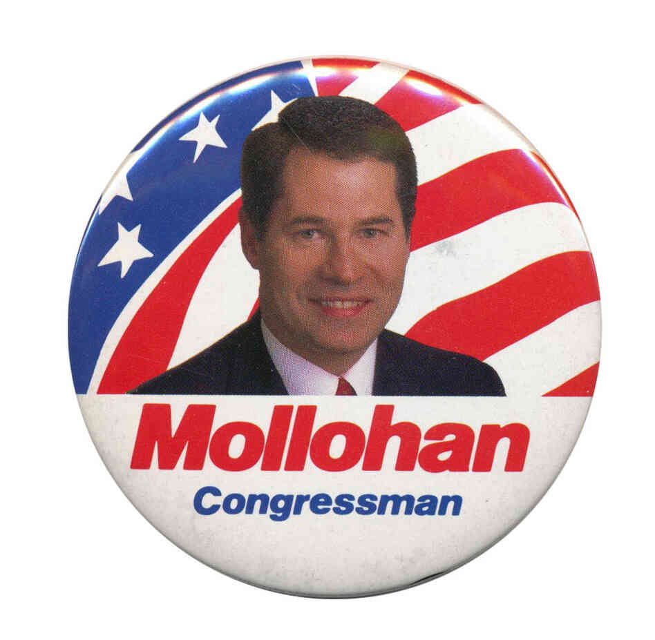 Mollohan campaign button