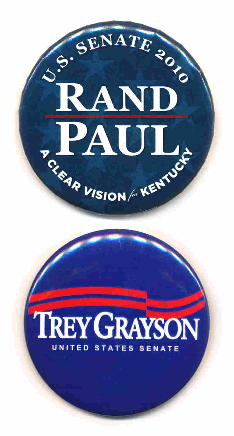 Paul and Grayson buttons