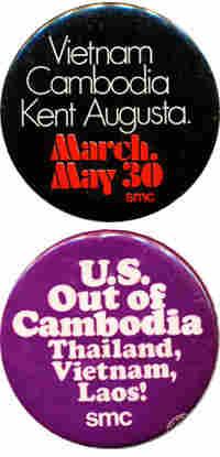 Anti war buttons