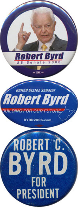 3 Byrd buttons