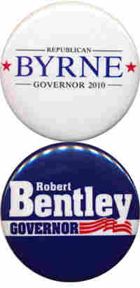 Byrne and Bentley buttons