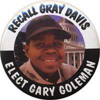 Gary Coleman button