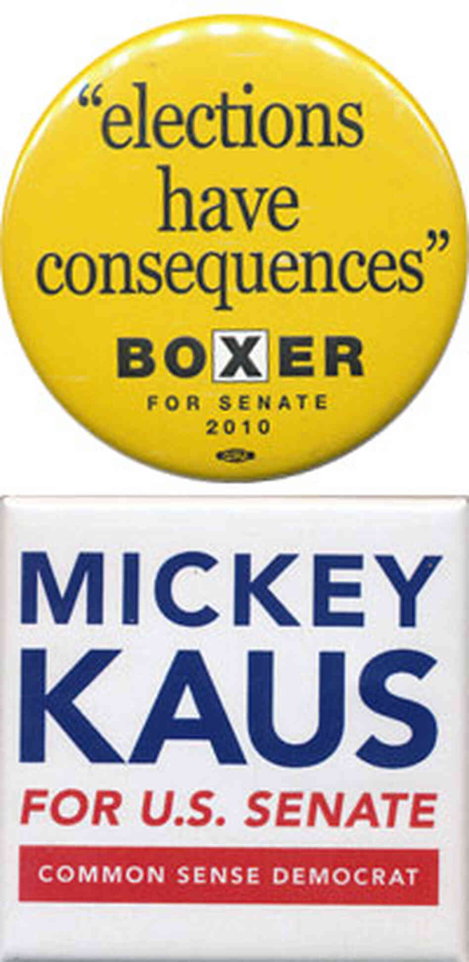 Boxer and Kaus buttons
