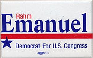 Rahm Emanuel for Congress