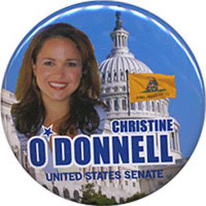 Christine O'Donnell button