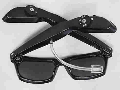 Spectra radio sunglasses.