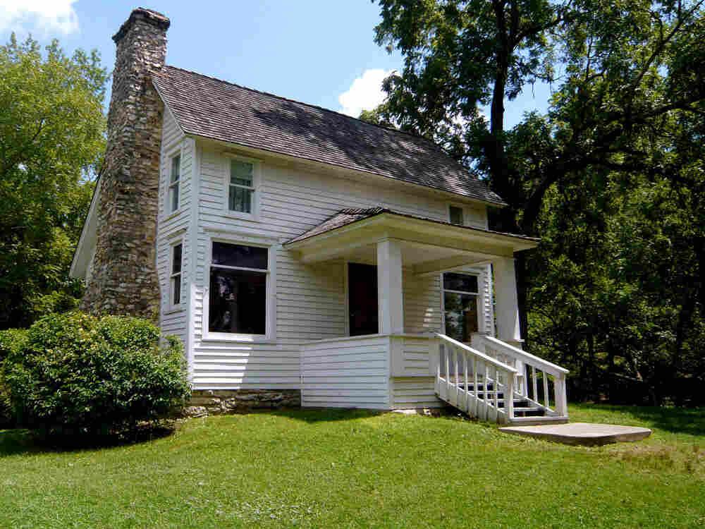 Laura Ingalls Wilder's house.