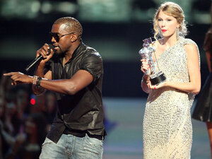 Kanye at the VMAs;