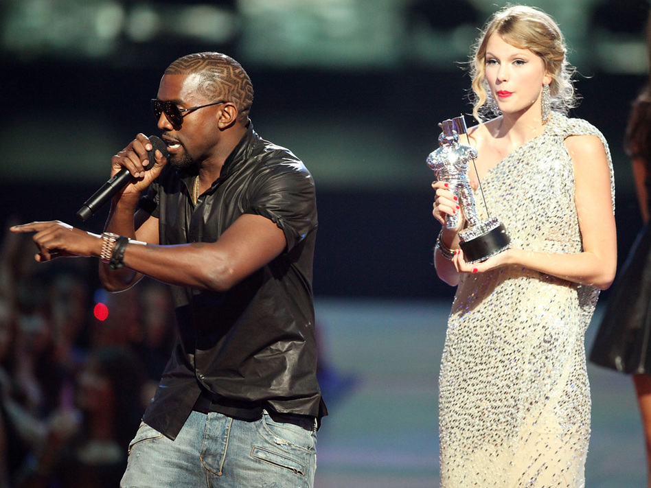 Kanye grabbed the mic from Taylor Swift at the VMAs last September, and he's already released a comeback song.