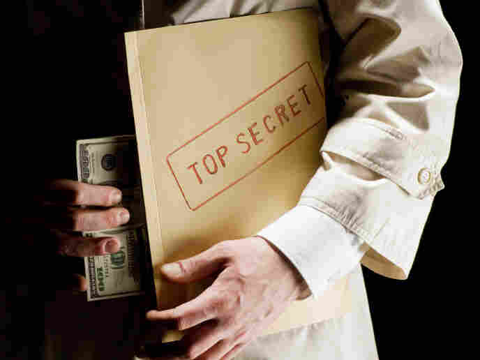 The top secret world of the secret agent.