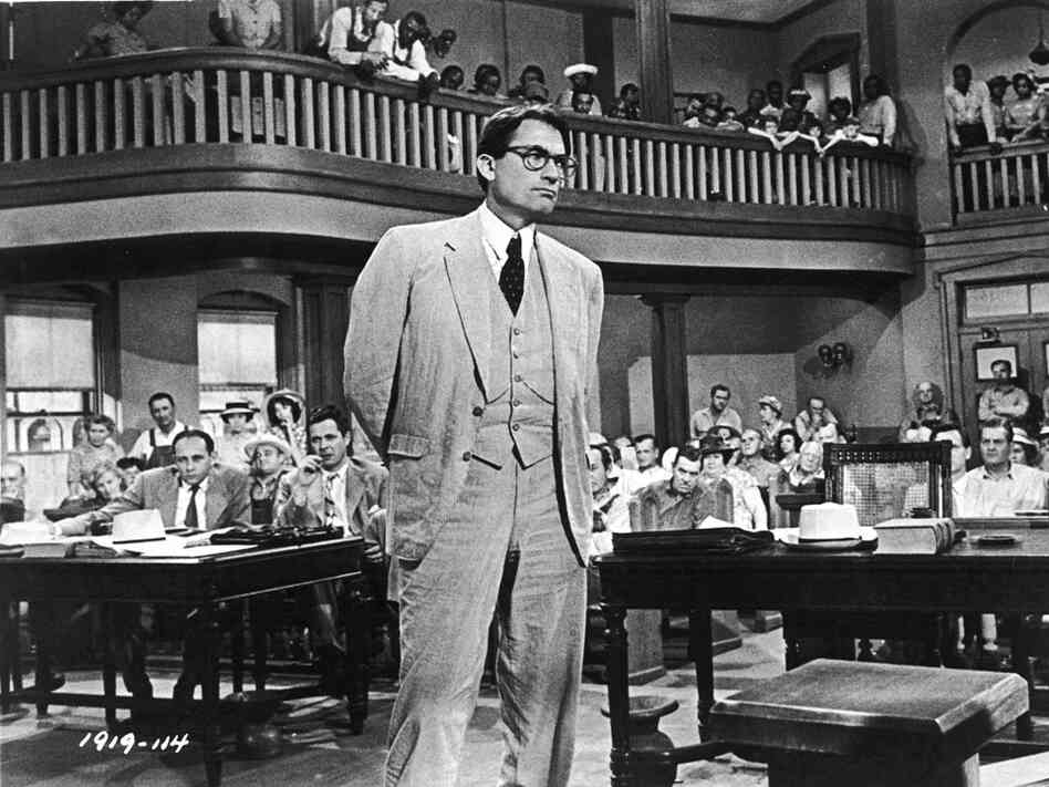 Gregory Peck as Atticus Finch