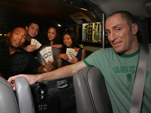In The Cash Cab