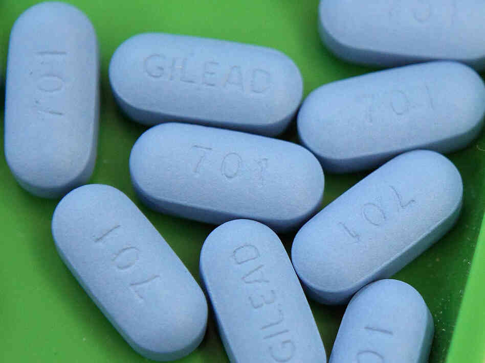 Antiretroviral pills Truvada