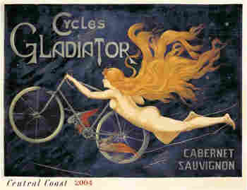 Cycles Gladiator Label.
