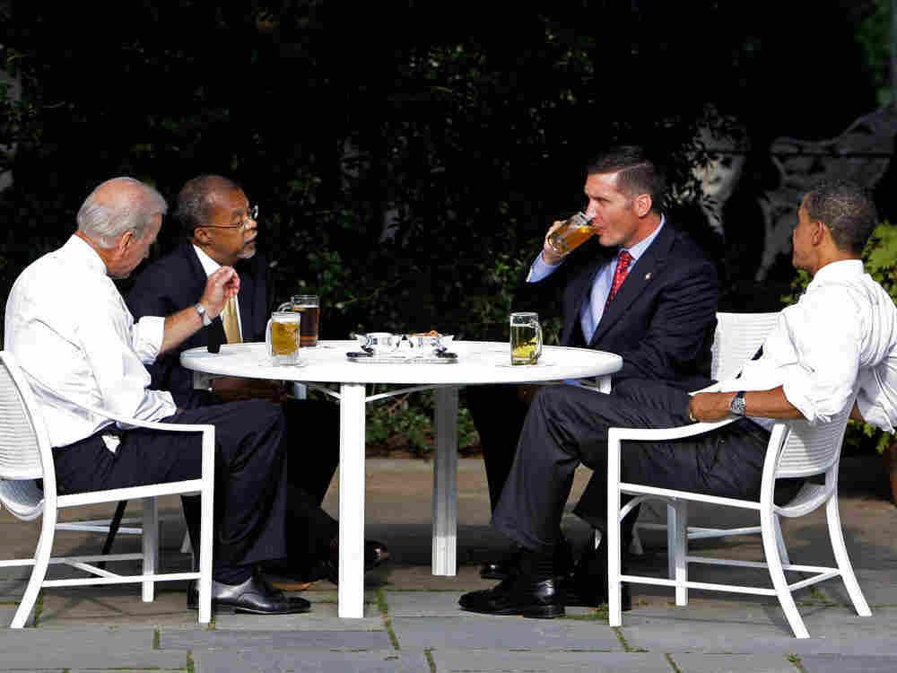 Obama Beer Chat.