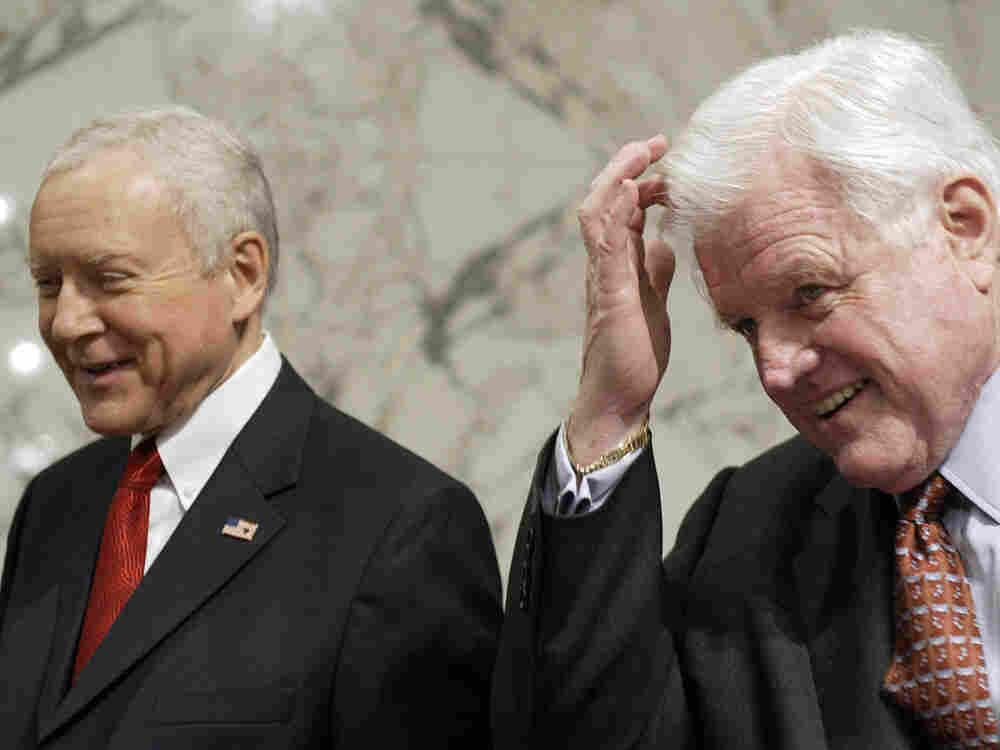 Orrin Hatch and Ted Kennedy, 2006