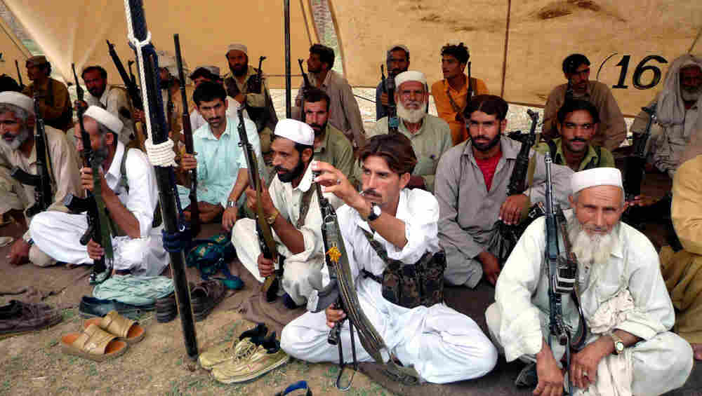Pakistani militia.