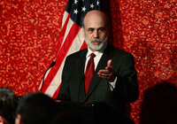 Fed Chair Ben Bernanke.