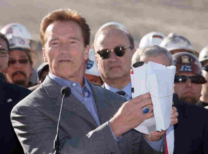Gov. Arnold Schwarzenegger.