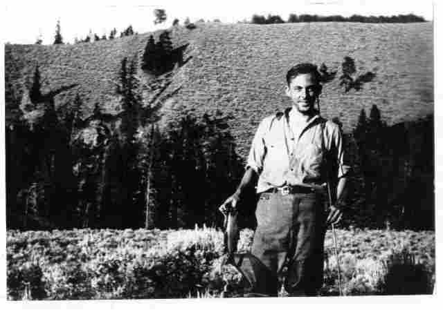 Arthur Memmott, 1935, in Colorado. Memmott family photo.