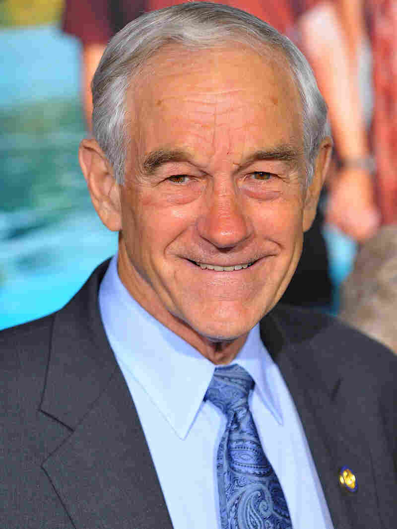 Rep. Ron Paul arrives at the Los Angeles premiere of 'Couples Retreat' on Oct. 5, 2009 in Westwood,