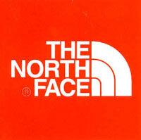 North Face logo.
