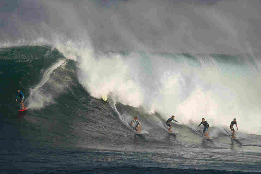 Monster Hawaii waves.