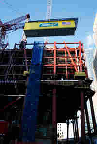 Subway at Freedom Tower.