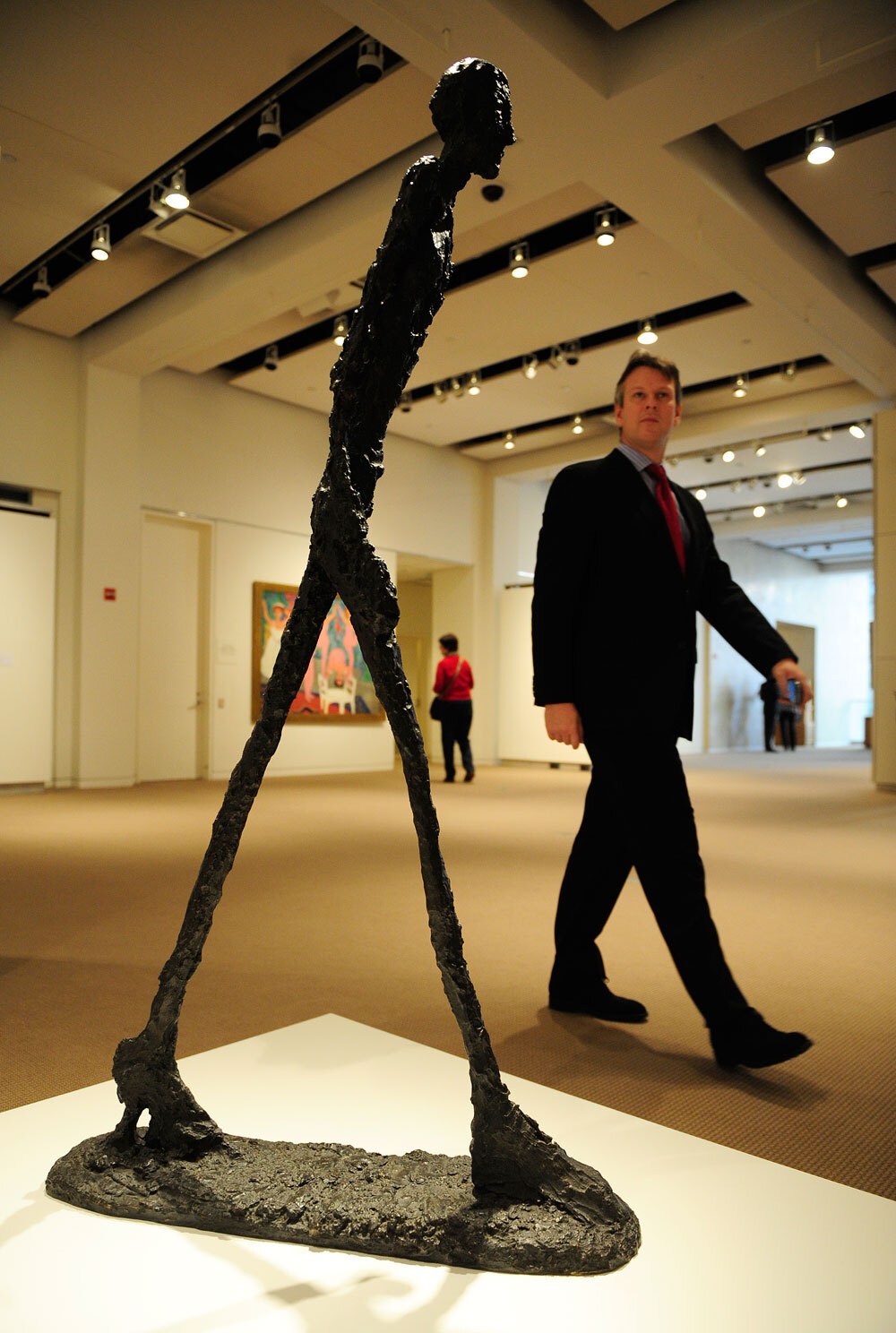 Giacometti 'Walking Man' Sculpture Sells For $104.3 Mill ...