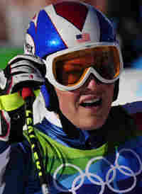Lindsey Vonn complained that her right shin was still very painful as she tried to win her second se